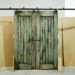 Barn sliding doors back