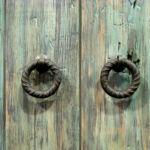 Pull rings for barn sliding doors