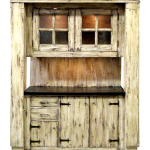 Built-in butler's pantry cabinet