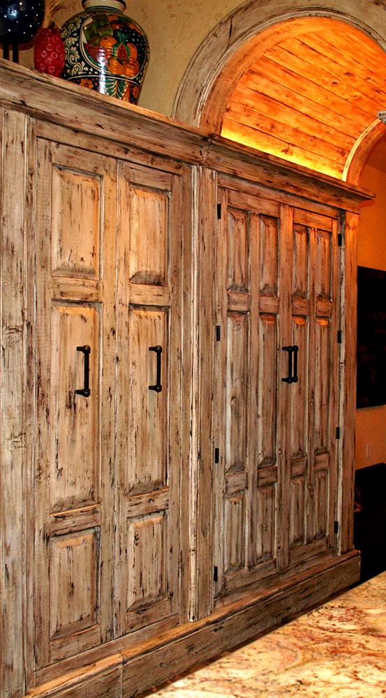 Custom Kitchen Pantry Cabinet - La Puerta Originals
