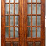French library doors