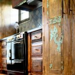 Custom pantry cabinet and stove cabinets