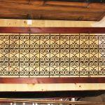 Custom railing panel one of five