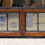 Operable transom for French doors