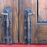 Hardware detail - foot bolts