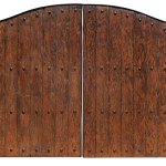 Spanish style gate