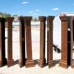 Portal columns
