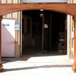 Front of one of 8 doorway surrounds