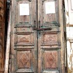 Antique colonial Egyptian doors