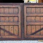 Back of custom automatic gate