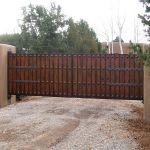 Motorized security gate