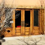 French doors with sidelights