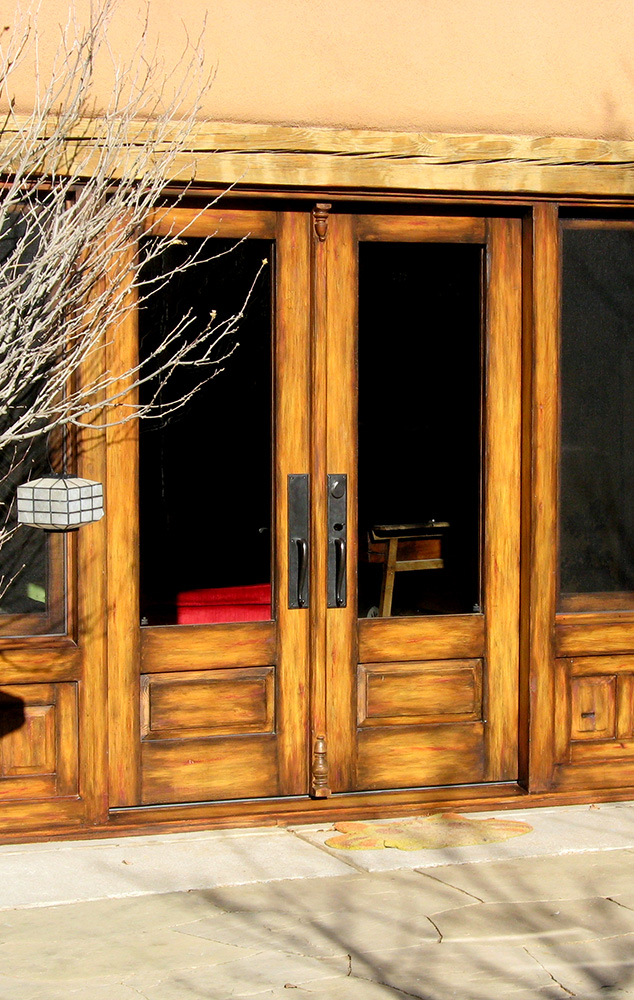French doors with sidelights la puerta originals - Exterior french doors with sidelights ...