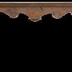 corbel and column mantel