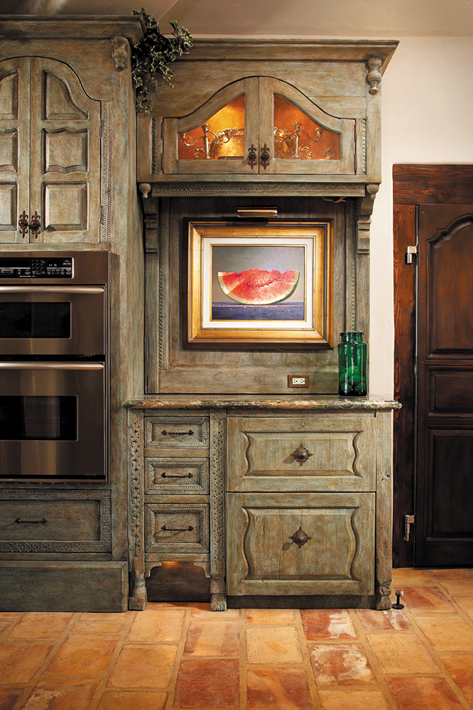 French Country Cabinets La Puerta Originals