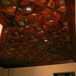 Custom wood ceiling tiles