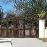 Custom double entry gates
