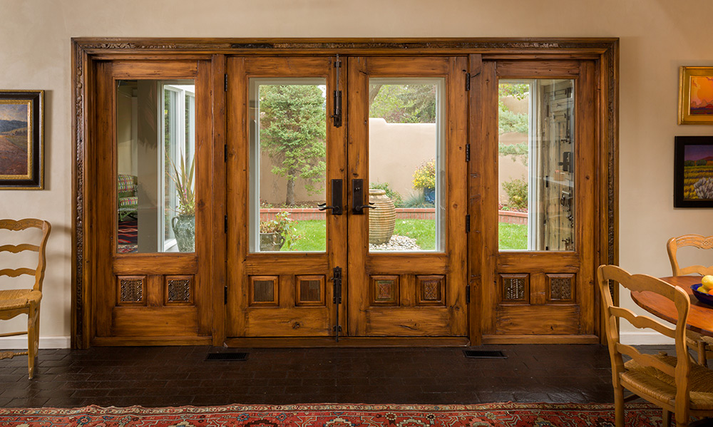 French doors with sidelights la puerta originals - Interior french doors with sidelights ...