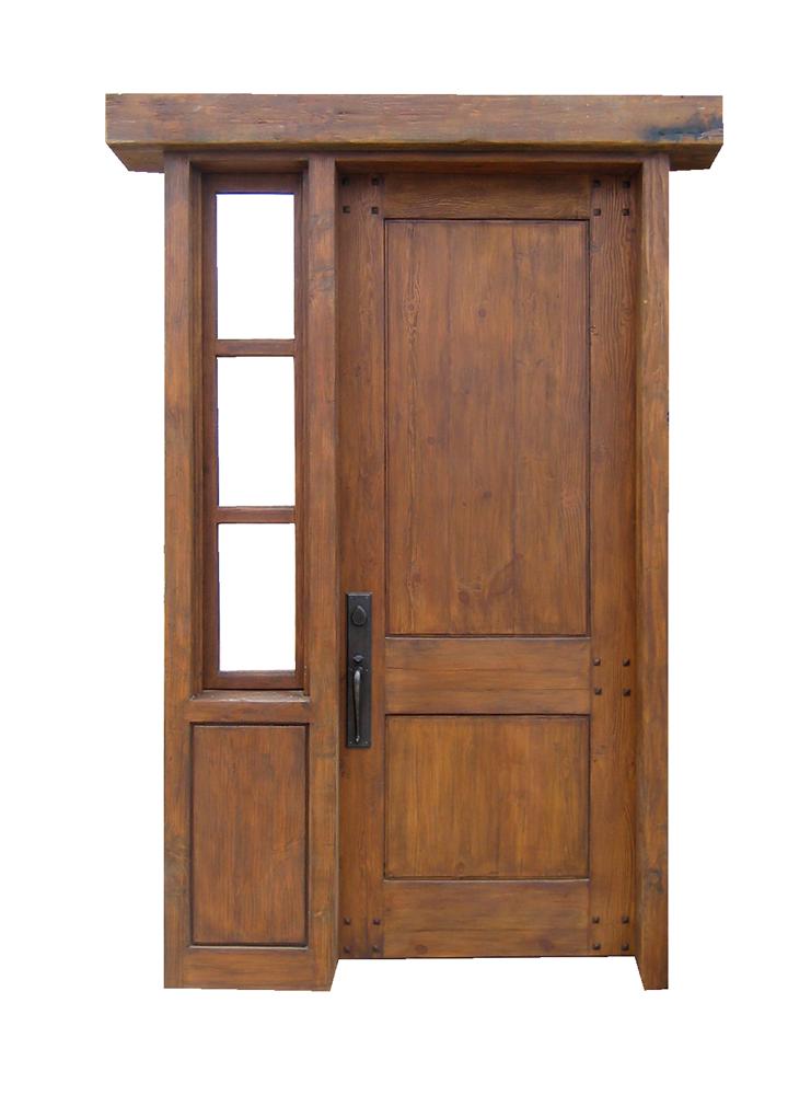 Door With Single Sidelight