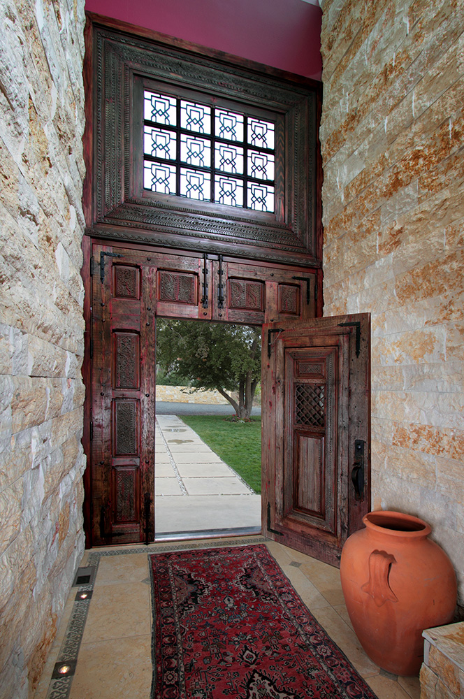 ... Door-within-a-door shown partially open ... & Door-Within-A-Door - La Puerta Originals