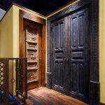 Powder room and pantry doors