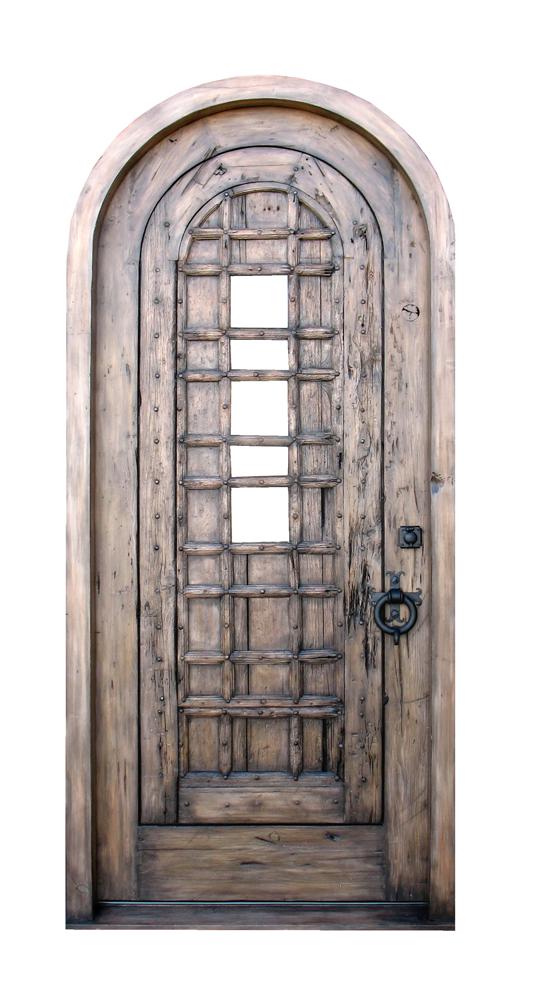 Arched Door With Shutter La Puerta Originals