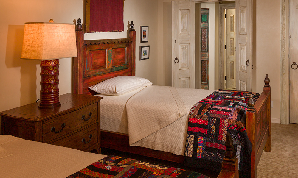 Beds Made with Antique Mexican Doors - Beds Made With Antique Mexican Doors - La Puerta Originals