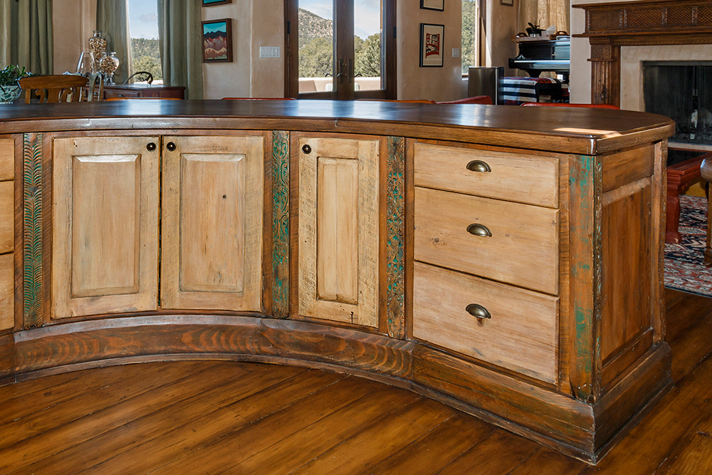 Curved Kitchen Island La Puerta Originals