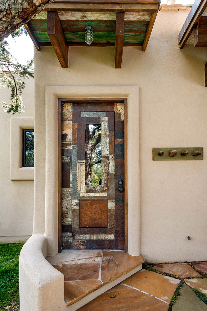 & Tin Clad Door - La Puerta Originals