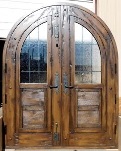 Arched front entry