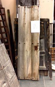 Antique Mexican mesquite door
