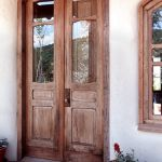 Custom arched French doors