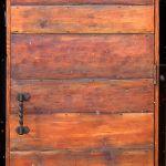 Salvaged wood door front