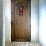 Back of chapel door