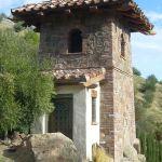 Custom built chapel door