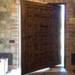 Pivoting front door