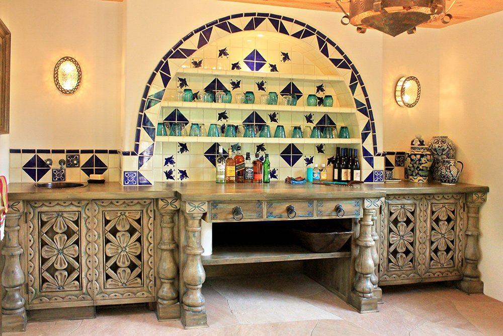 Custom Mexican Style Bar