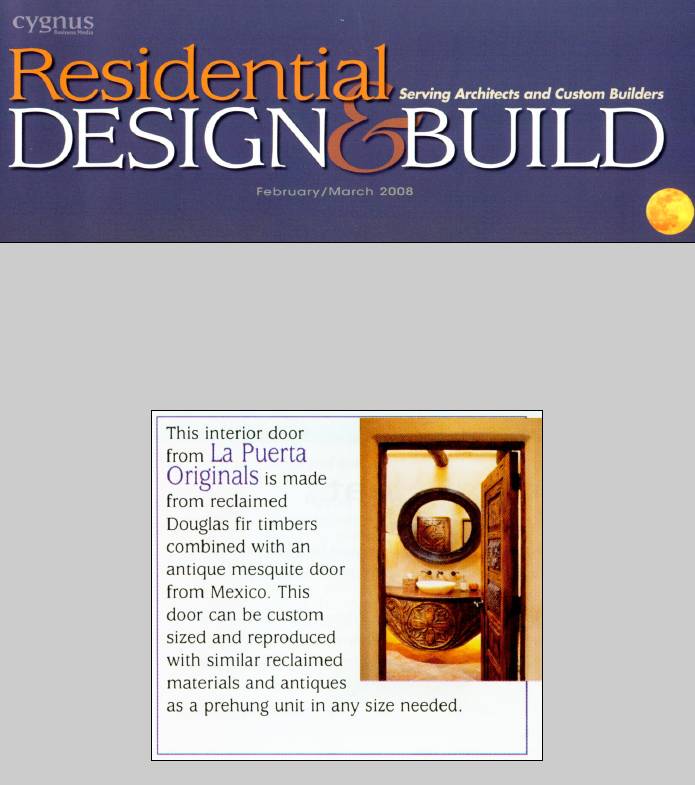Residential Design and Build Magazine