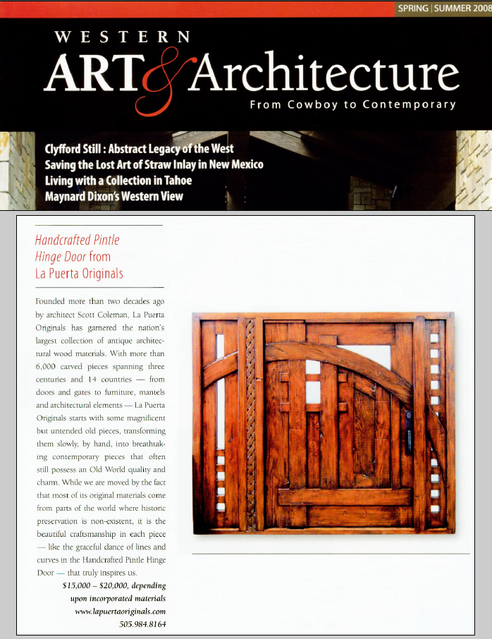 Western Art and Architecture article