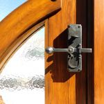 Entry set with deadbolt