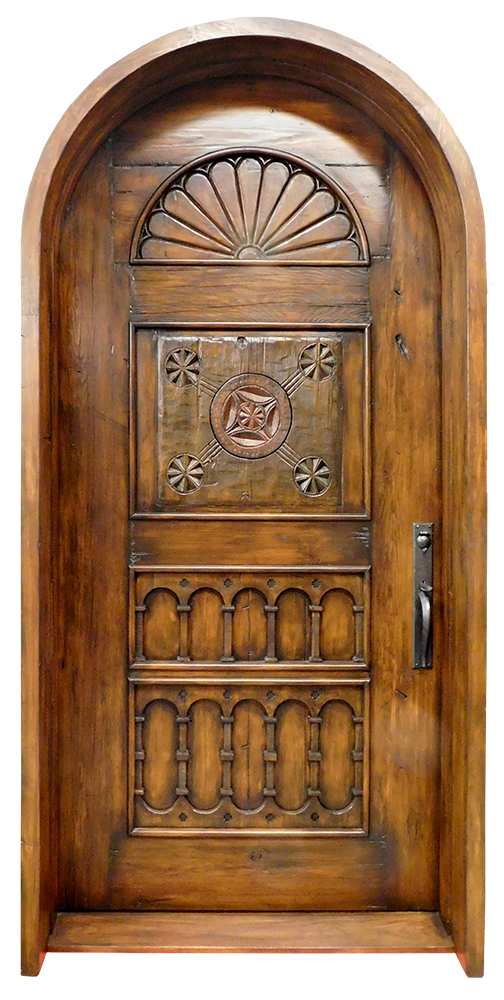 Arched Front Entry La Puerta Originals