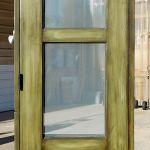 Green door back