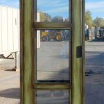 Green door front