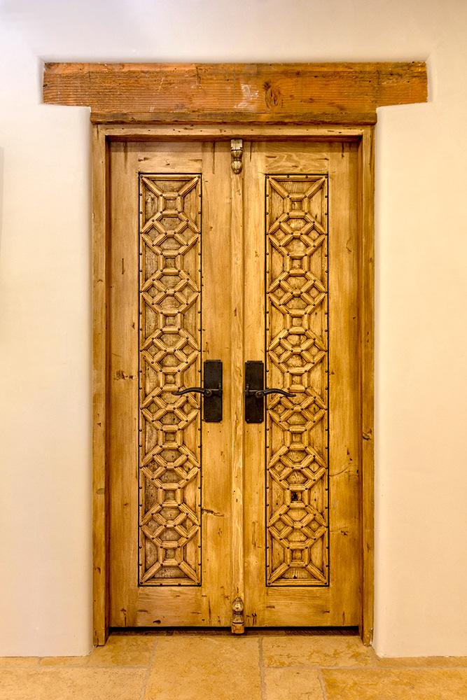 . Bedroom Doors with Header   La Puerta Originals