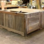 Rustic kitchen island in progress