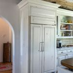 wood refrigerator panels