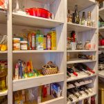 customized pantry shelving