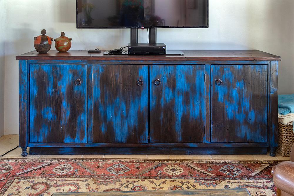 Blue Cabinet La Puerta Originals