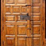 Back of custom Dutch door