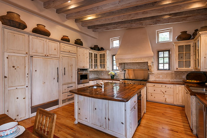 completed Santa Fe kitchen remodel